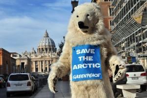 Greenpeace-Eisbär